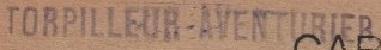 * AVENTURIER (1914/1938) * 20-0410