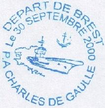 * CHARLES DE GAULLE (2001/....) * 200-0911
