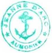 + AUMÔNERIE CHRETIENNE CATHOLIQUE DE LA MARINE + 200-1212
