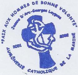 + AUMÔNERIE CHRETIENNE CATHOLIQUE DE LA MARINE + 201-1211