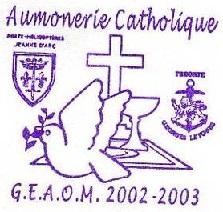 + AUMÔNERIE CHRETIENNE CATHOLIQUE DE LA MARINE + 202-1210
