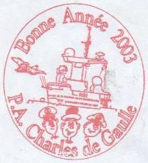 * CHARLES DE GAULLE (2001/....) * 203-0110