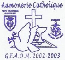 + AUMÔNERIE CHRETIENNE CATHOLIQUE DE LA MARINE + 203-0112