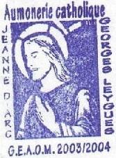 + AUMÔNERIE CHRETIENNE CATHOLIQUE DE LA MARINE + 204-0111