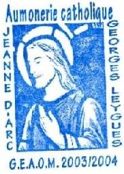 + AUMÔNERIE CHRETIENNE CATHOLIQUE DE LA MARINE + 204-0112