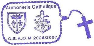 + AUMÔNERIE CHRETIENNE CATHOLIQUE DE LA MARINE + 207-0112