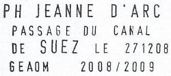 * JEANNE D'ARC (1964/2010) * 208-1215