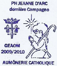 + AUMÔNERIE CHRETIENNE CATHOLIQUE DE LA MARINE + 210-0111