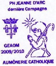 + AUMÔNERIE CHRETIENNE CATHOLIQUE DE LA MARINE + 210-0112