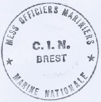 * BREST, Centre d'Instruction Navale  (C.I.N) * 213-1211