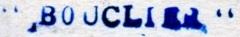* BOUCLIER (1911/1933) * 25-0810