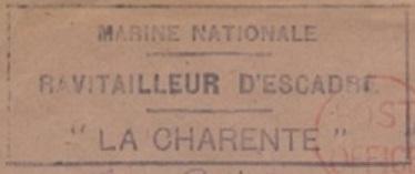* LA CHARENTE (1946/1959) * 45-05110