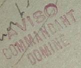 * COMMANDANT DOMINE (1940/1960) * 49-0510