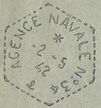 Bureau Postal Naval Temporaire N° 34 de Diego-Suarez 490_0011