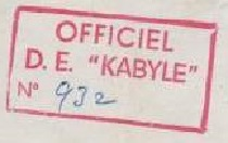 * KABYLE (1950/1964) * 53-10_10