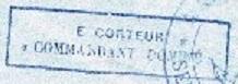 * COMMANDANT DOMINE (1940/1960) * 54-0911