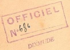 * DIXMUDE (1945/1966) * 56-1110