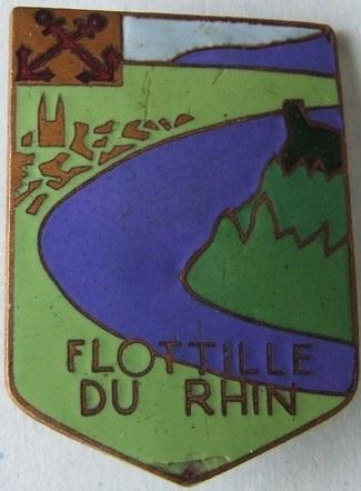 * COBLENTZ-LUTZEL, Flottille Rhénane du Nord * 723_0010