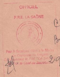 * LA SAÔNE (1963/1982) * 78-0510