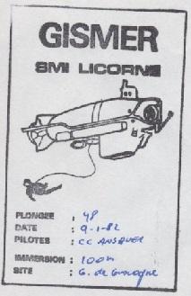 * LICORNE (1981/.....) * 82-0811