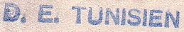 * TUNISIEN (1944/1963) * 825_0011