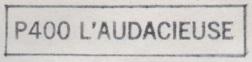 * L'AUDACIEUSE (1986/2011) * 84-06_10