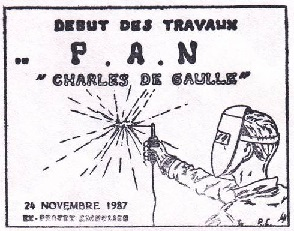 * CHARLES DE GAULLE (2001/....) * 87-1110