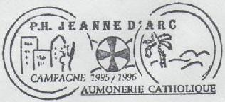 + AUMÔNERIE CHRETIENNE CATHOLIQUE DE LA MARINE + 95-1210