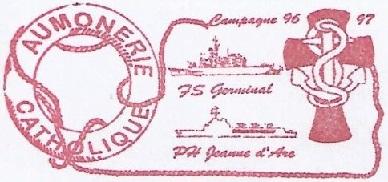 + AUMÔNERIE CHRETIENNE CATHOLIQUE DE LA MARINE + 96-11_11