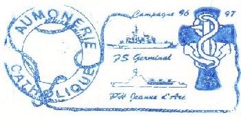 + AUMÔNERIE CHRETIENNE CATHOLIQUE DE LA MARINE + 96-1215