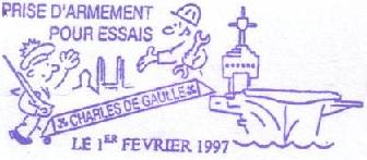 * CHARLES DE GAULLE (2001/....) * 97-02_10