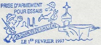 * CHARLES DE GAULLE (2001/....) * 97-02_11