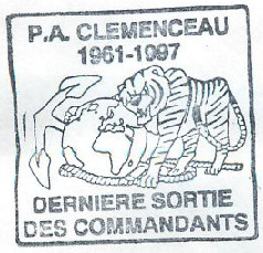 * CLEMENCEAU (1961/1998) * 97-0710