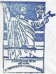 + AUMÔNERIE CHRETIENNE CATHOLIQUE DE LA MARINE + 98-1111