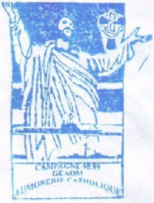 + AUMÔNERIE CHRETIENNE CATHOLIQUE DE LA MARINE + 98-1213
