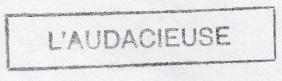 * L'AUDACIEUSE (1986/2011) * 99-0910