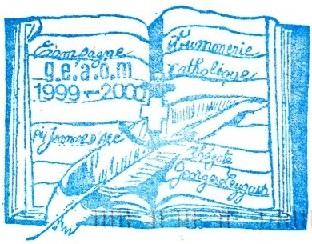 + AUMÔNERIE CHRETIENNE CATHOLIQUE DE LA MARINE + 99-1213