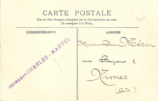 * CHARLES MARTEL (1897/1919) * Charle11