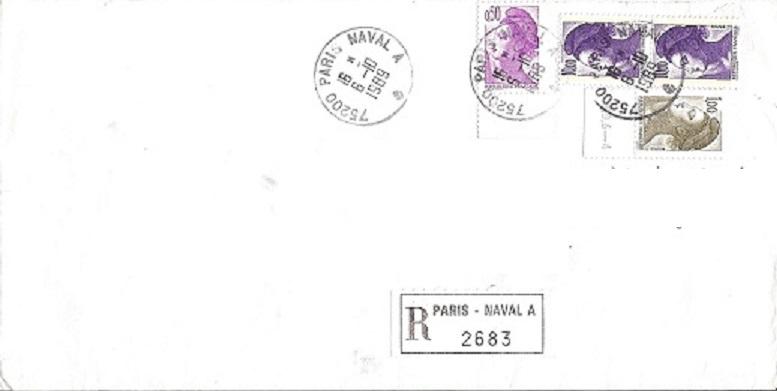 PARIS - PARIS NAVAL Poste_10