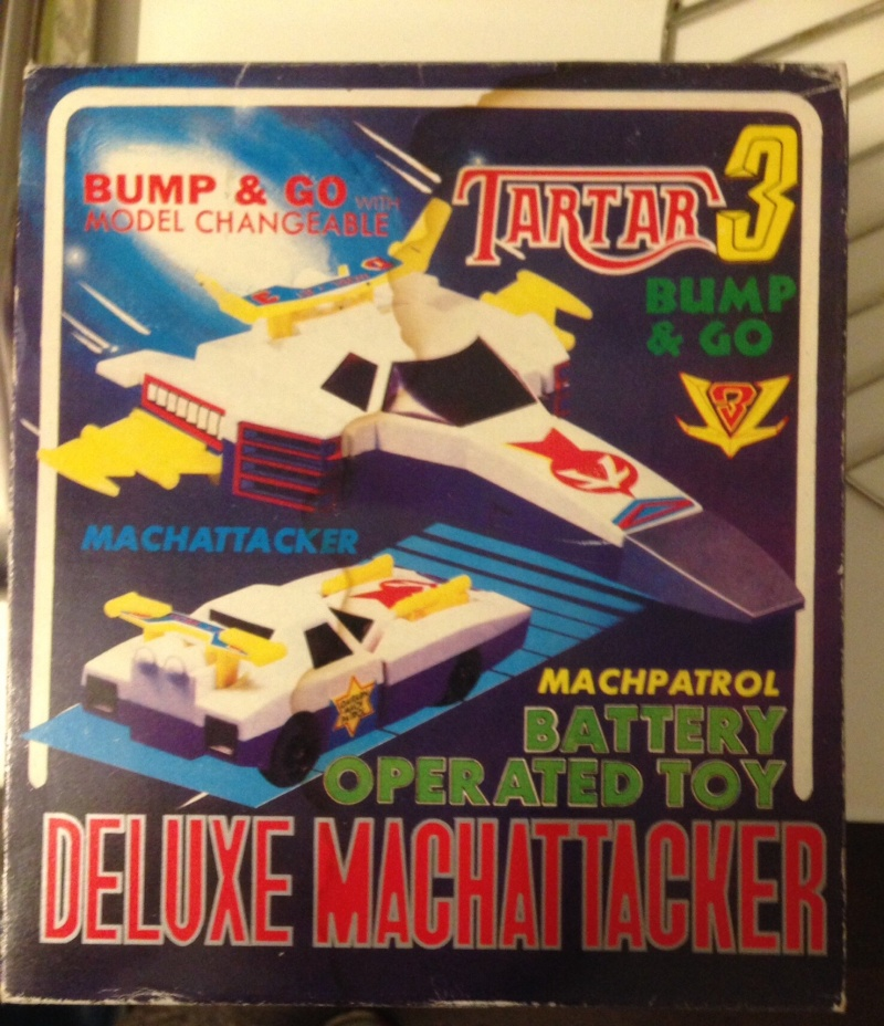 Battere Bump and Go DELUXE MACH ATTACKER TARTAR'80                          Image48
