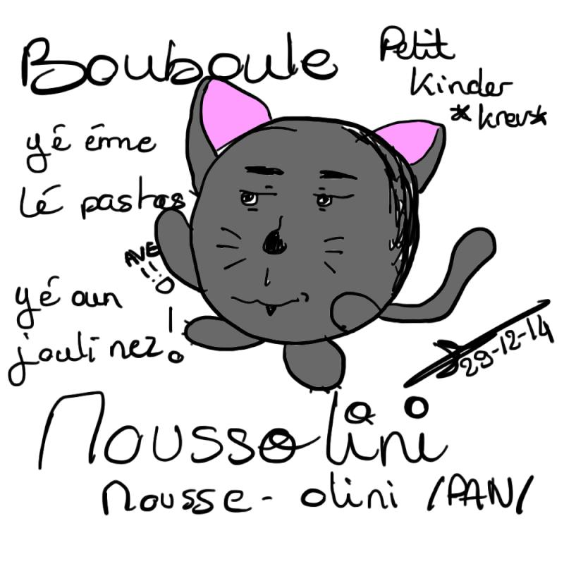 Dessins d'une 'tite violette - Page 4 Boubou10