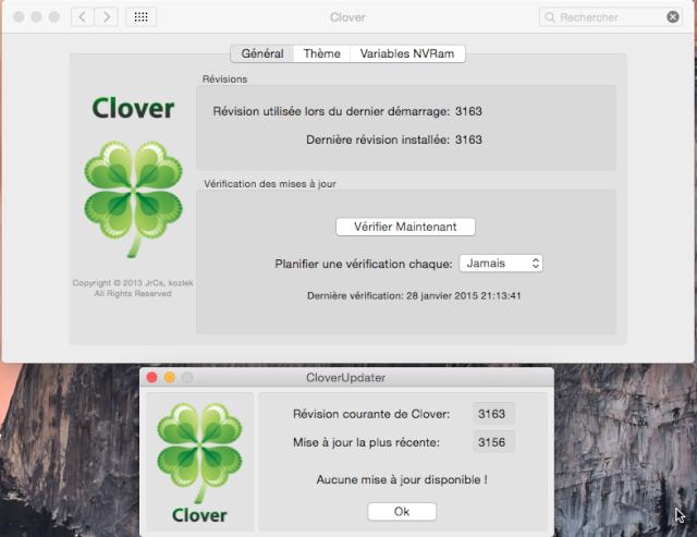 [résolu]mise a jour clover Update10