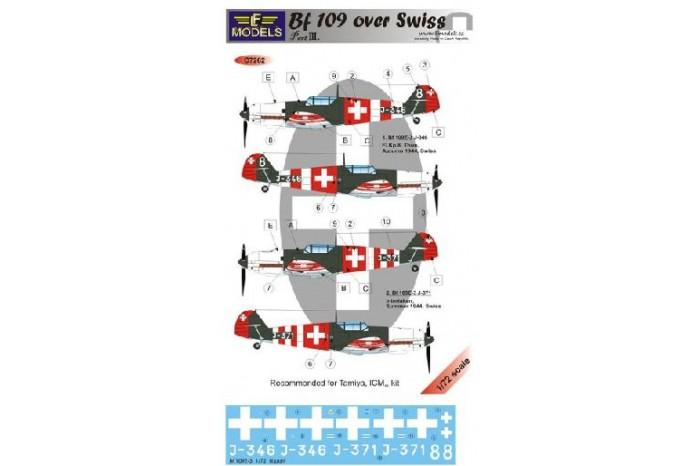 Decals Suisse Bf-10910