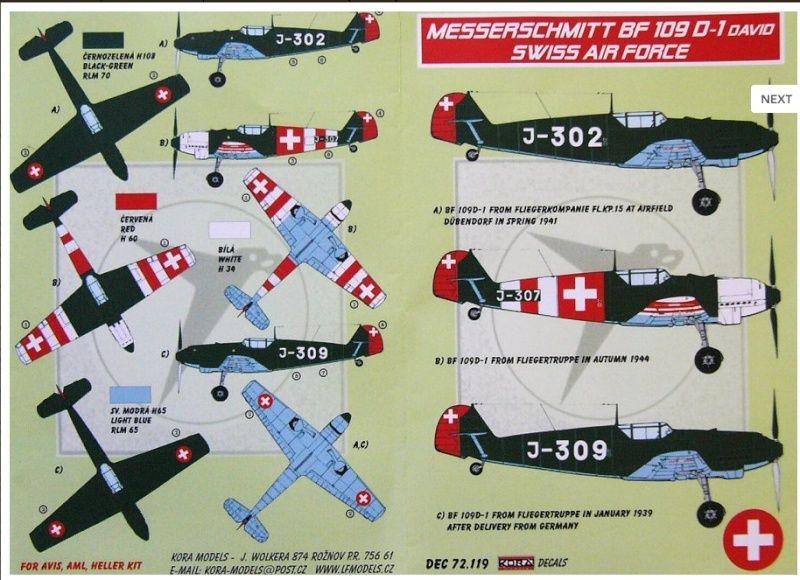 Decals Suisse Firesh12