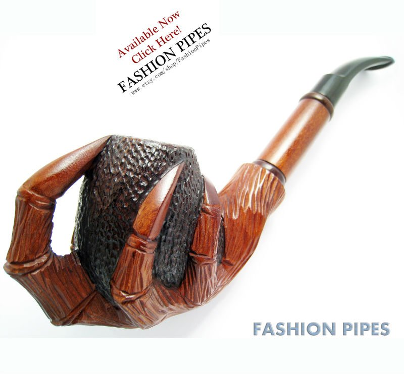 Pipe Dragon.... Carved10