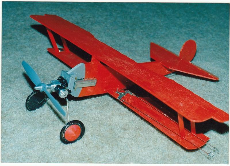 A little Fokker saved from the scrap heap.... Rog_cu11