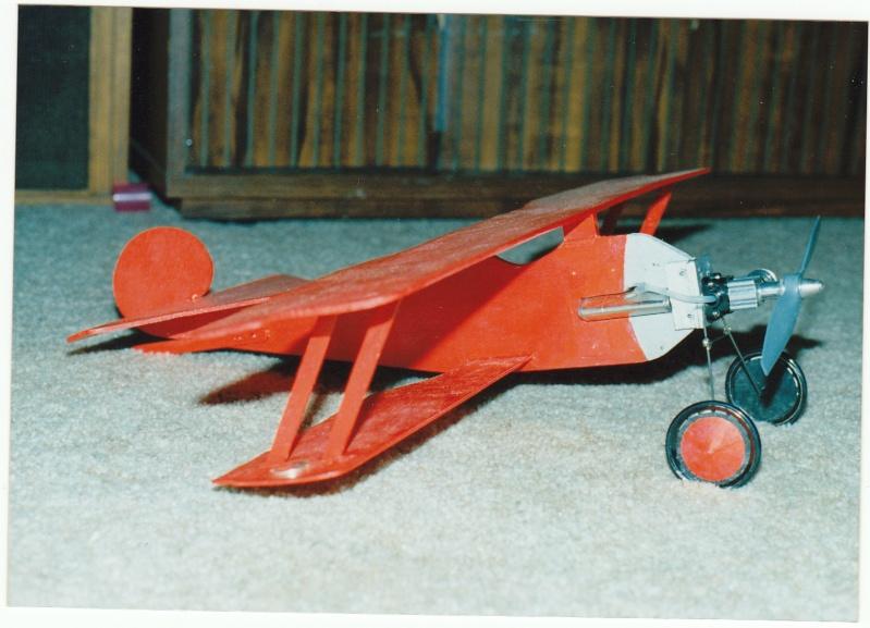 A little Fokker saved from the scrap heap.... Rog_cu12