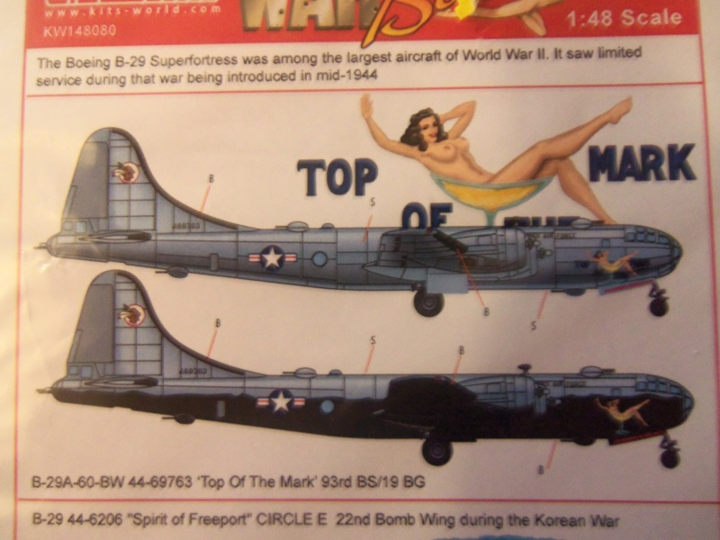 B-29 Superfortress de Revell 1/48 sur Kijiji... 01715