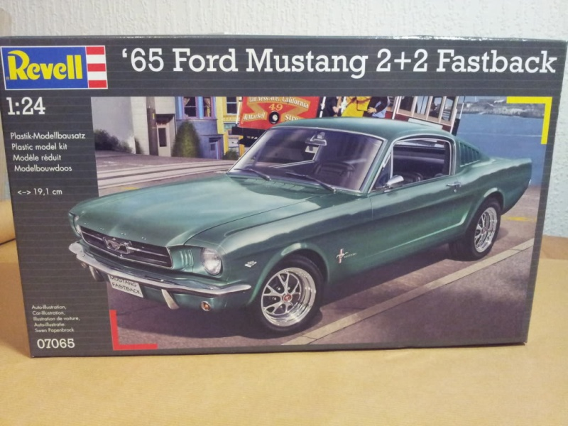 Revell of Germany 1965 Mustang 2+2 1/24 20140410