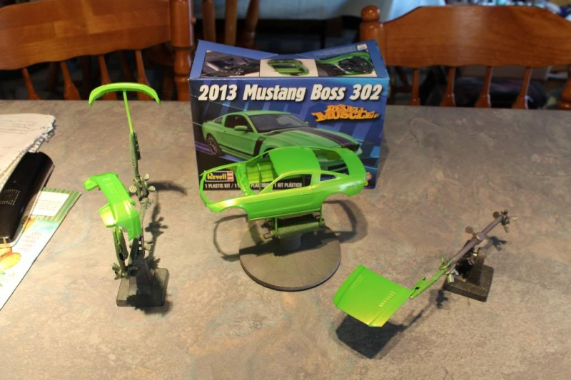 """Color Match pour """"Gotta Have It Green"""" du Revell 2013 Boss 302 Img_5710"""